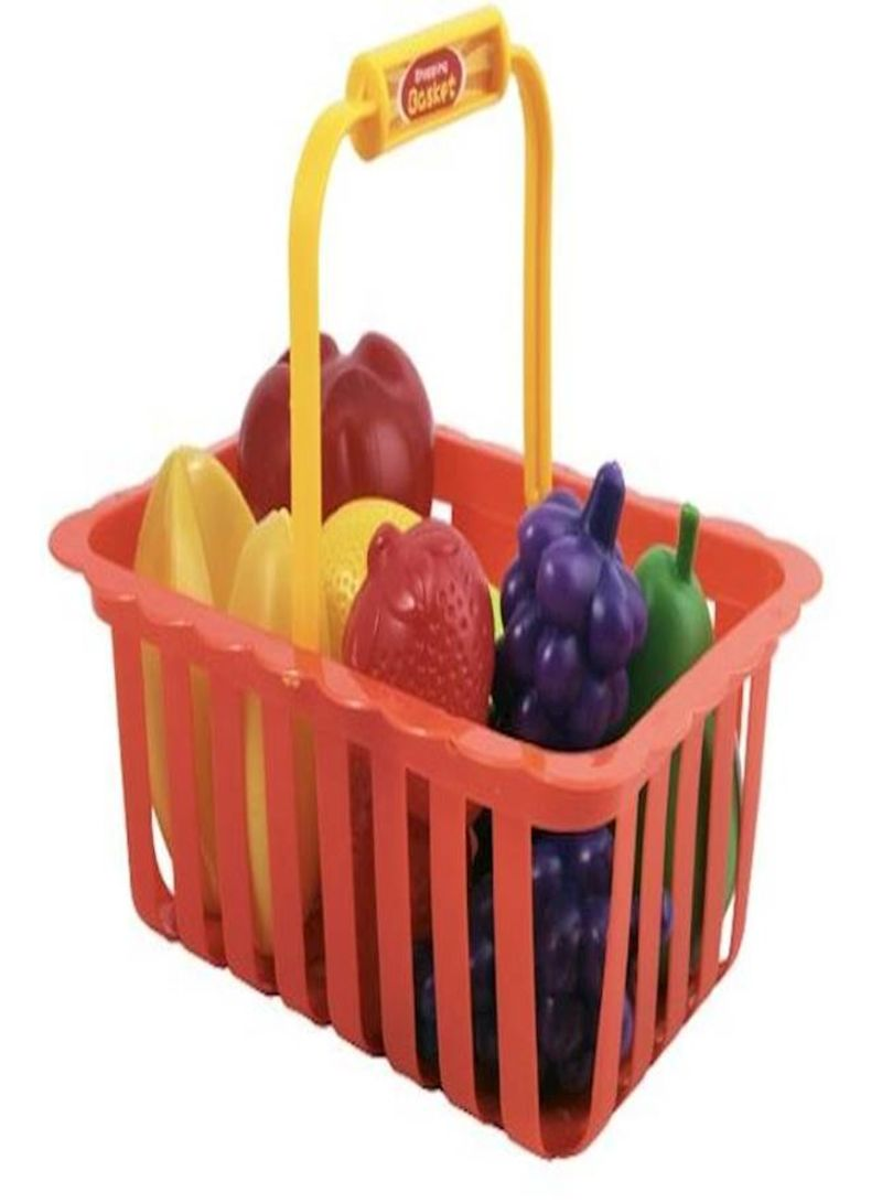 14-Piece Fruits Basket Set