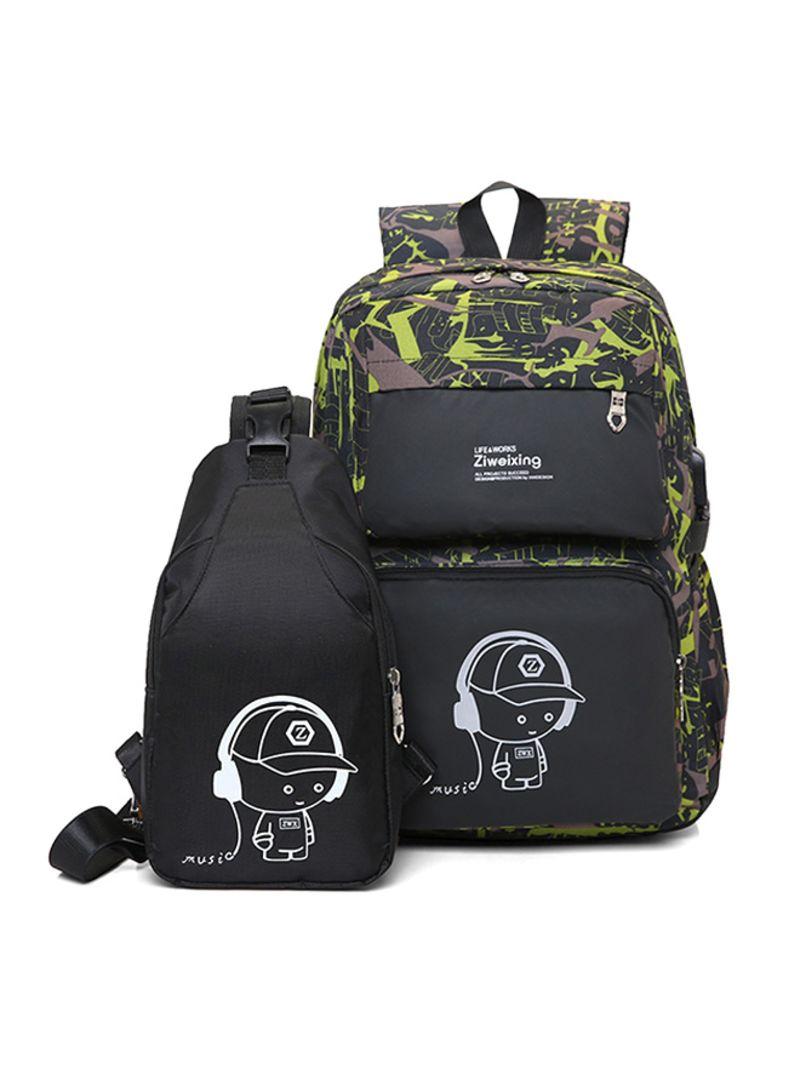 Backpacks Luminous Printing Wo Backbag High Quality School Bag
