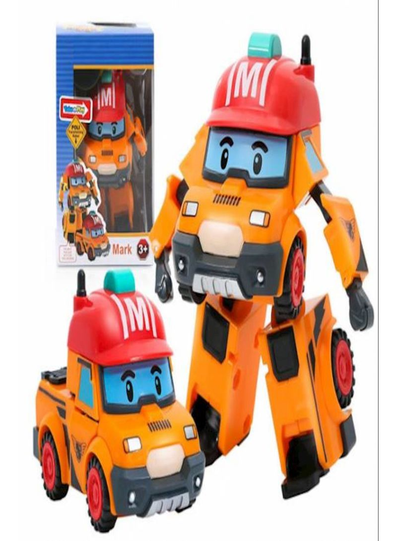 Toys Q Version Of Educational Deformation Toy Mark Deformation Robot Toy For Children'S Toys