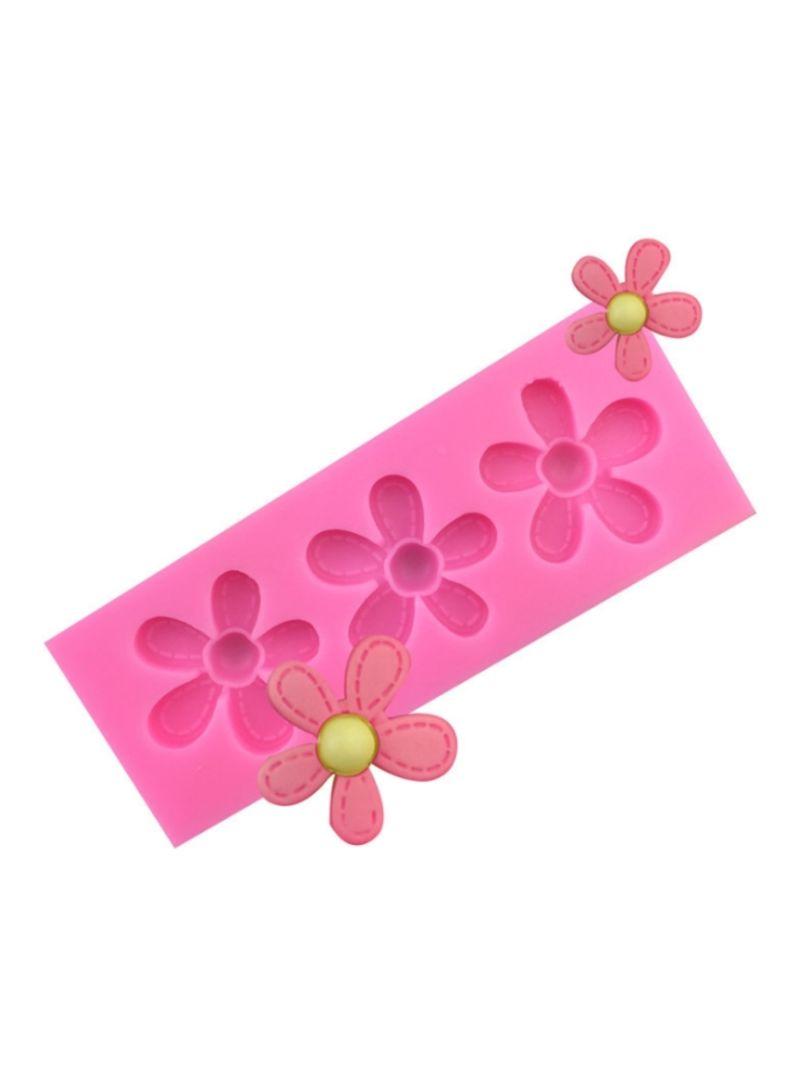 Bakeware Moulds Pink 10.5x4x1 centimeter