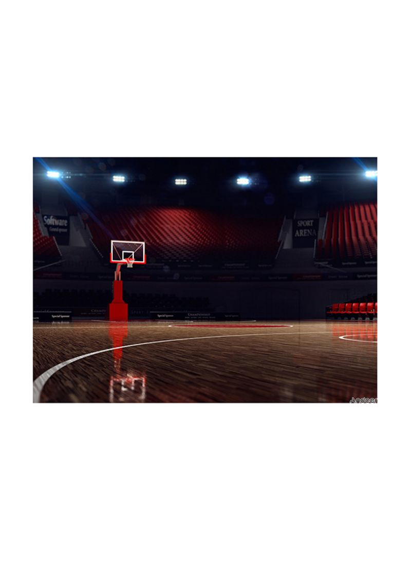 Basketball Game Court Photography Background Photo Studio Props Multicolour