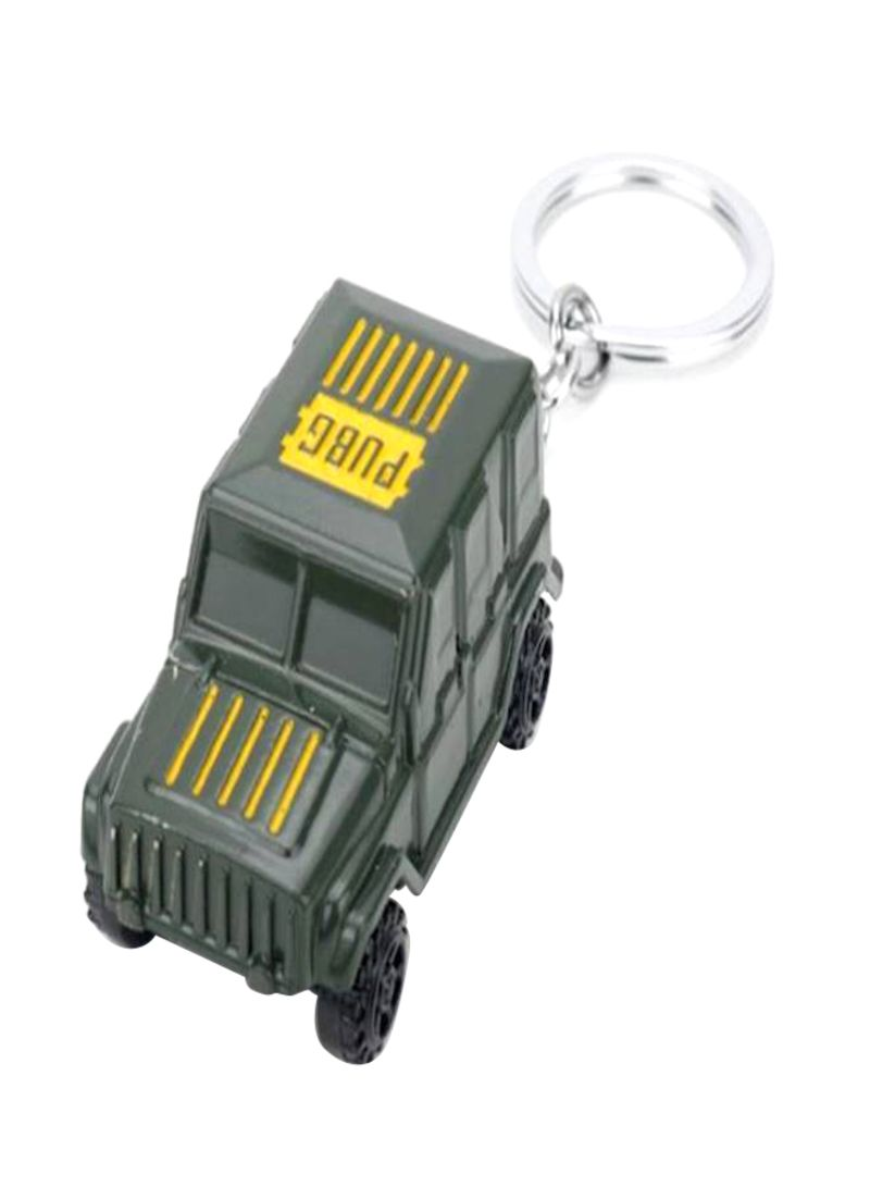Jedi Survival Chicken Game Car Keychain Black