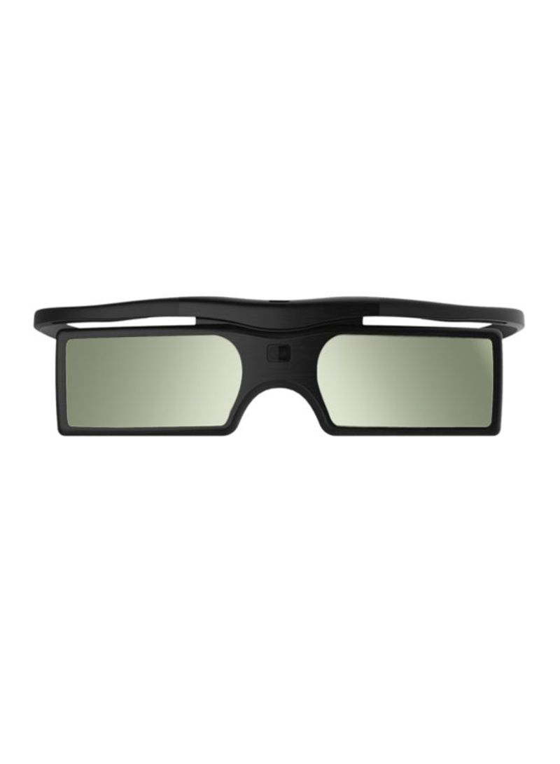 3D Active Shutter Glasses Black