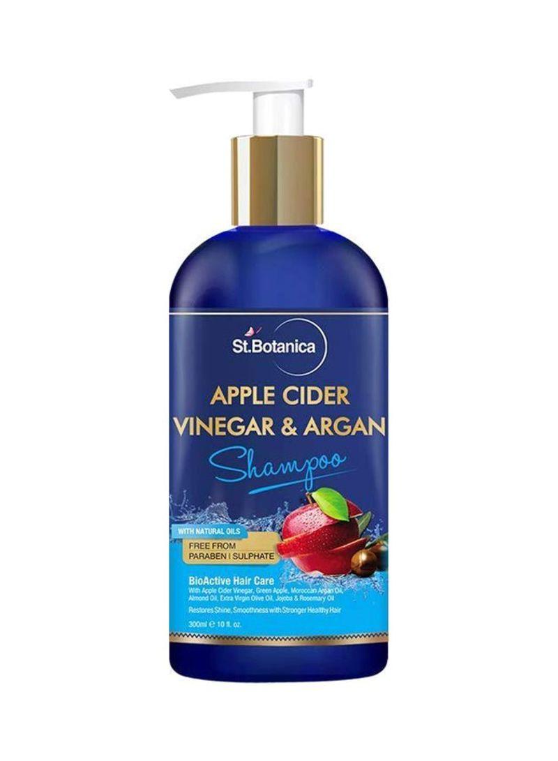 Apple Cider Vinegar And Argan Hair Shampoo 10 ounce