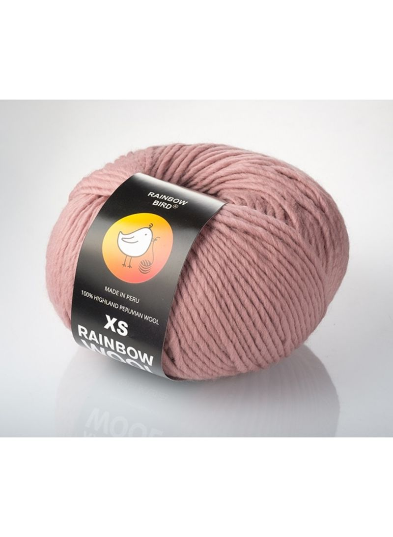 Rainbow Bird Thread Xs Rainbow Wool Tsvet.Lipstick Baby Pink