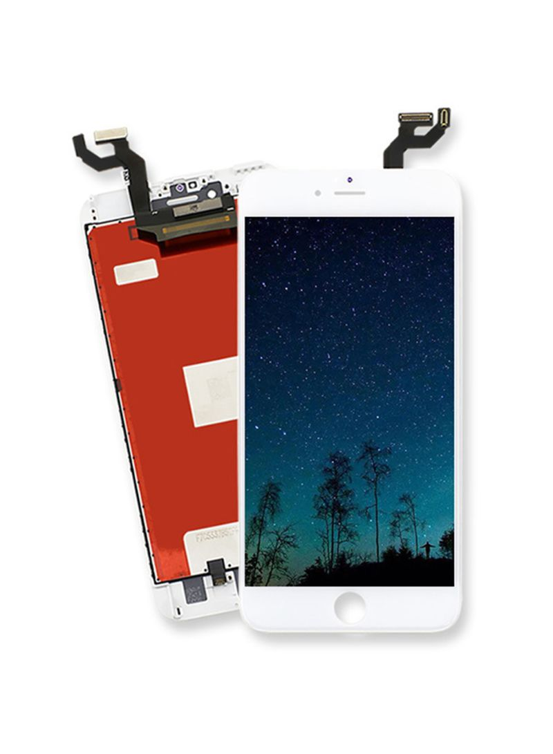 LCD Display Front Touch Screen for iPhone Repair Tools Kit for iPhone Screen Replacement Accessory White