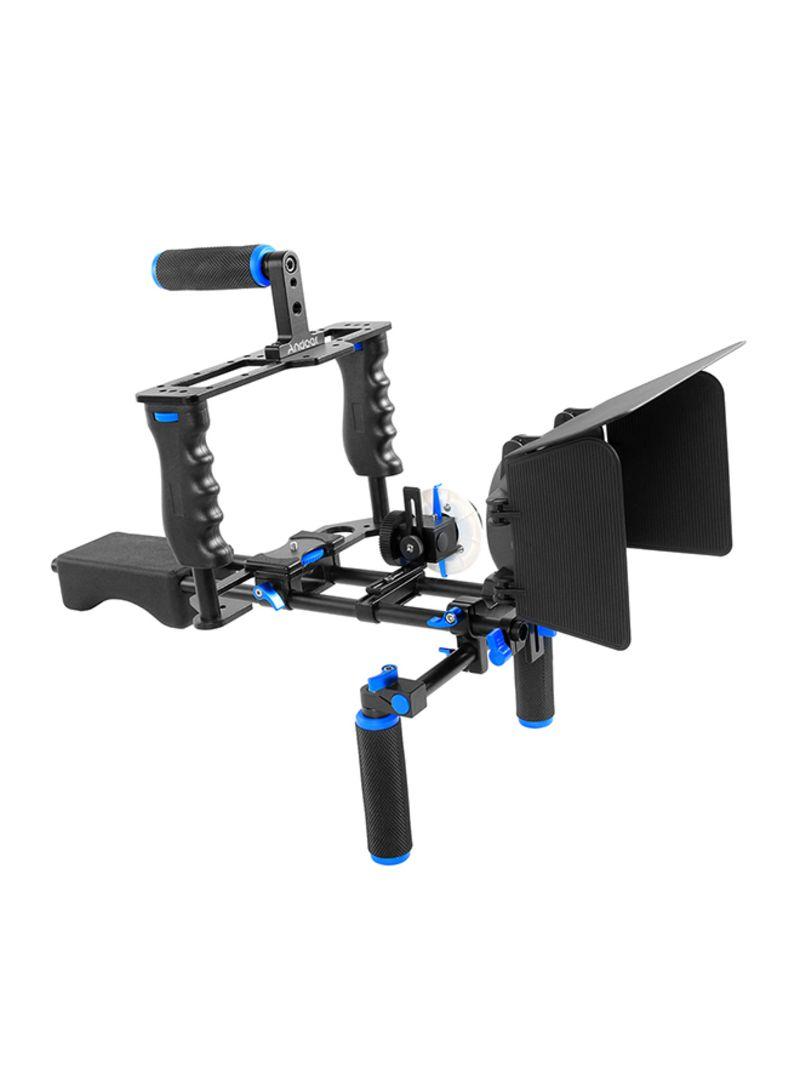 Camera Camcorder Video Cage Kit Black