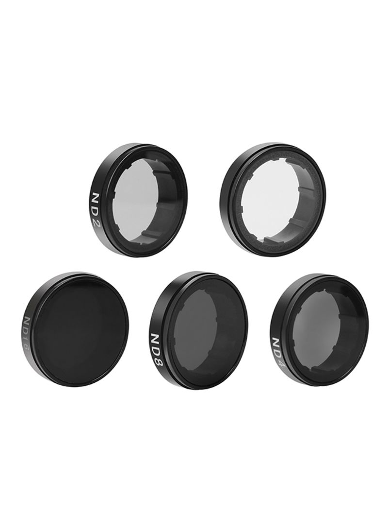 Protective Round Lens Filters For GoPro Camera Black