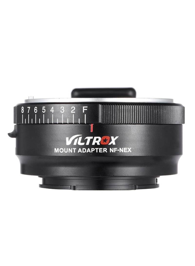 Mount Ring For Nikon Lens And Sony Lens Black