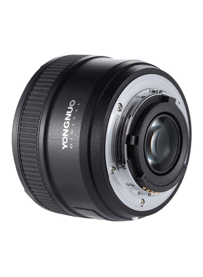 YN 50mm f/1.8 Lens For Nikon F Black