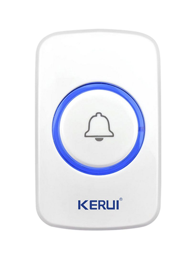 433MHz Wireless Alarm Accessories For Intelligent Home System White