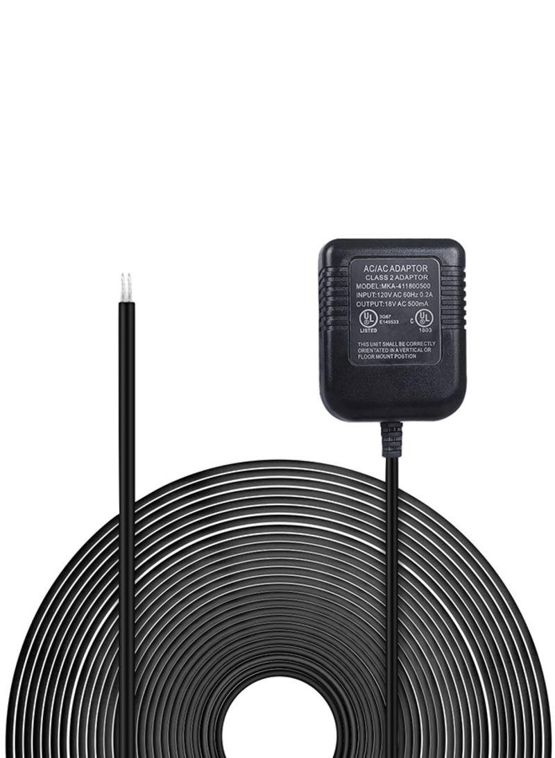 Ring Video Doorbell Power Supply US Adapter Black 0.33 kg