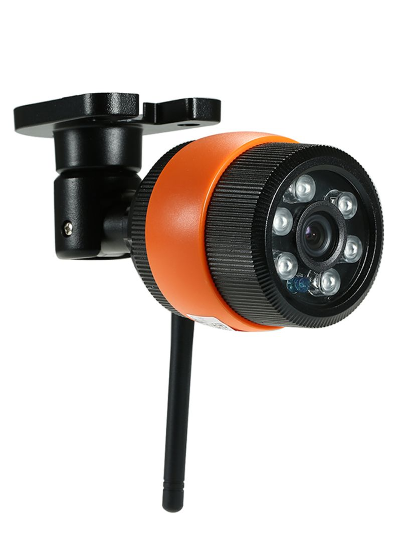 HD 720P IP CCTV Camera Black/Orange