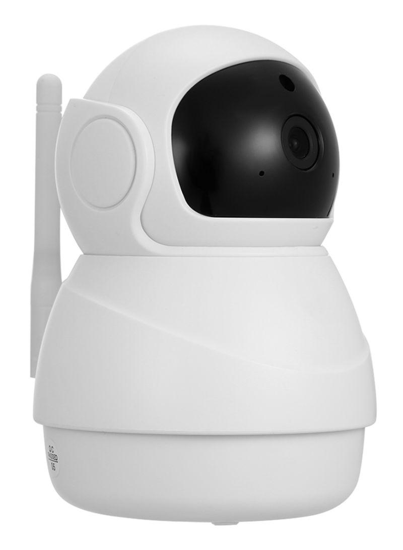 Wireless Indoor Security Camera White
