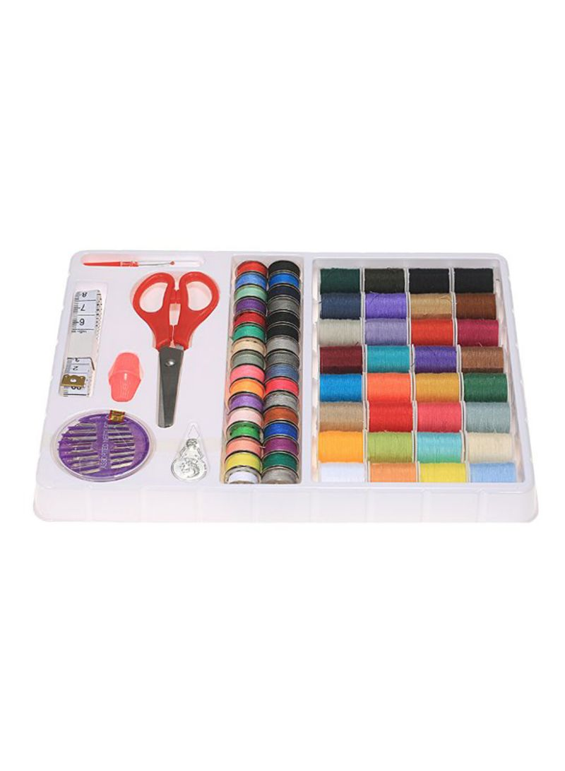 100-Piece Sewing Accessories Supplies Kit Multicolor