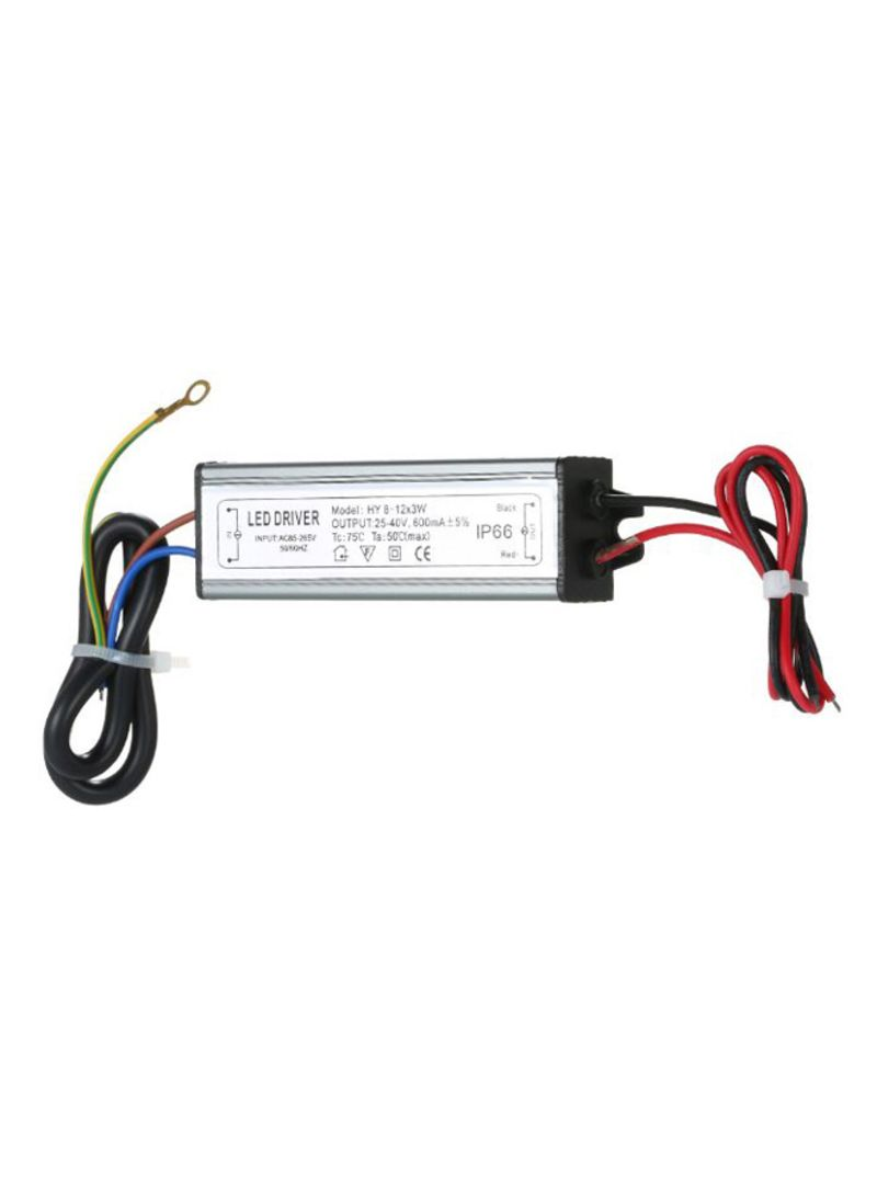 LED Constant Current Driver Power Supply Adapter Multicolor