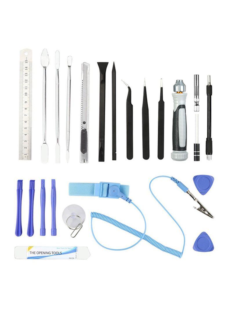 80-In-1 Multi-Functional Precision Telecommunication Repair Tools Kit Multicolour