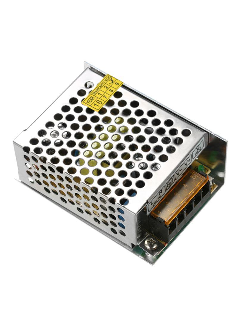 Led Strip Light Adjustable Switch Power Supply Voltage Transformer Silver 0.131 kg