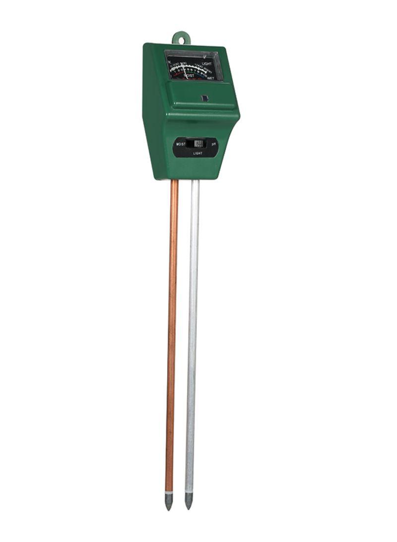 3-In-1 Soil Tester Moisture Meter Green