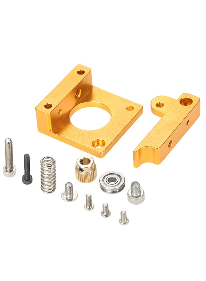 3D Printer MK8 Remote Extruder Accessories Frame For Makerbot Reprap Right Hand Gold
