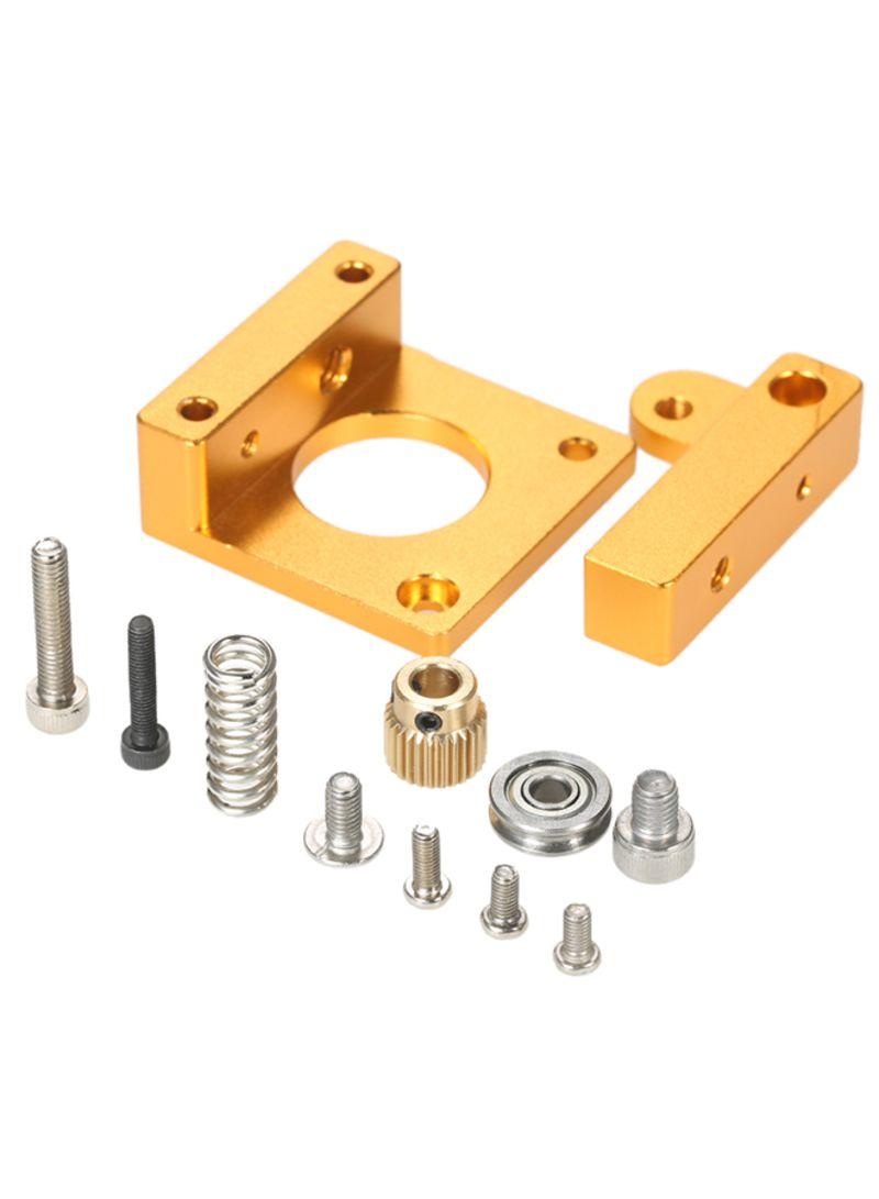 3D Printer MK8 Remote Extruder Accessories Frame For Makerbot Reprap Normal Gold