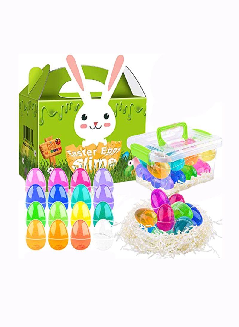 16-Piece Easter Basket Stuffers Eggs Set