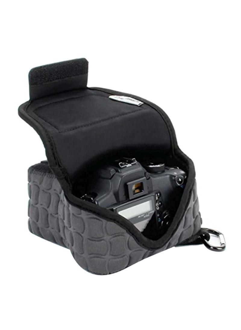 Camera Case For Nikon D3400/Canon EOS Rebel SL2/Pentax K-70 Grey