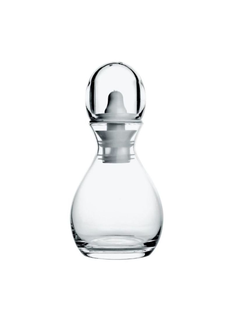 Set Of 2 Oil/Salt Vinegar/Pepper Cruet Gocce Transparent 19.2 centimeter