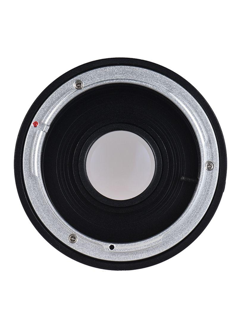 Camera Lens Adapter Ring Black/Silver