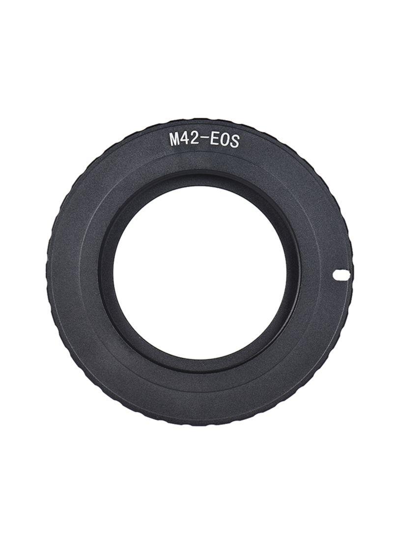 55mm Camera Lens Reversing Ring Adapter Black