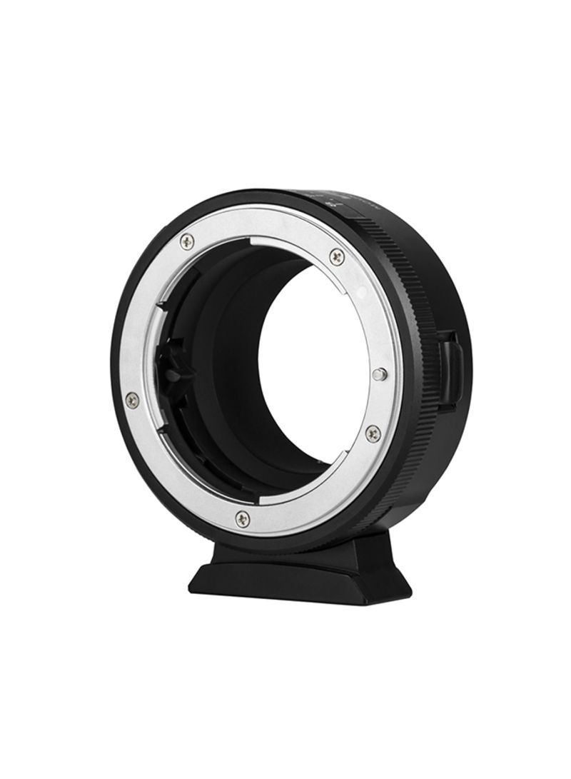 Camera Mount Adapter Ring Black/Silver