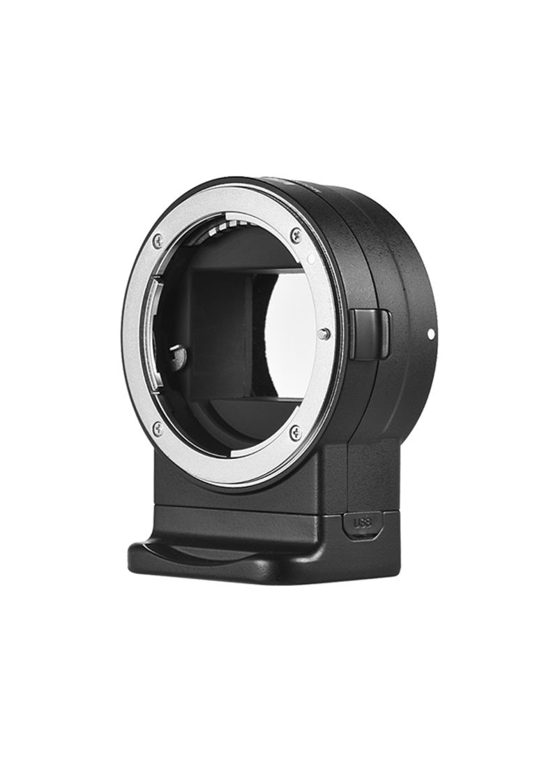 Mount Adapter Ring For Nikon Camera Black/Silver