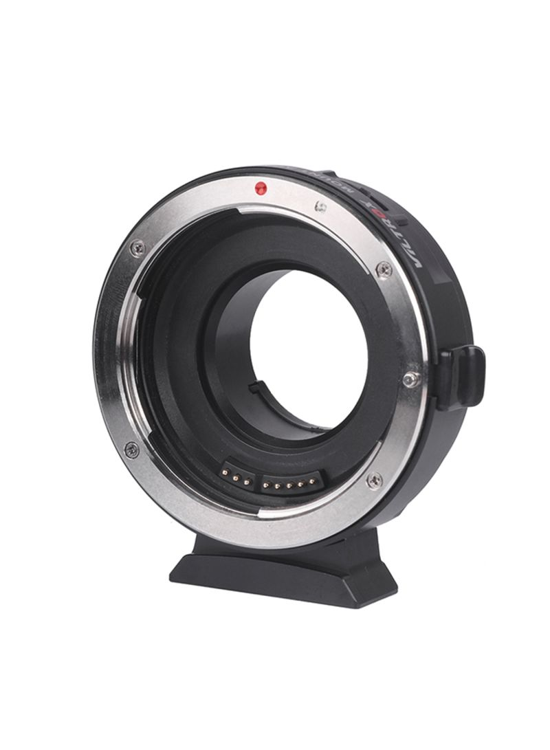 EF-M1 Lens Mount Adapter Ring For Canon Black/Silver