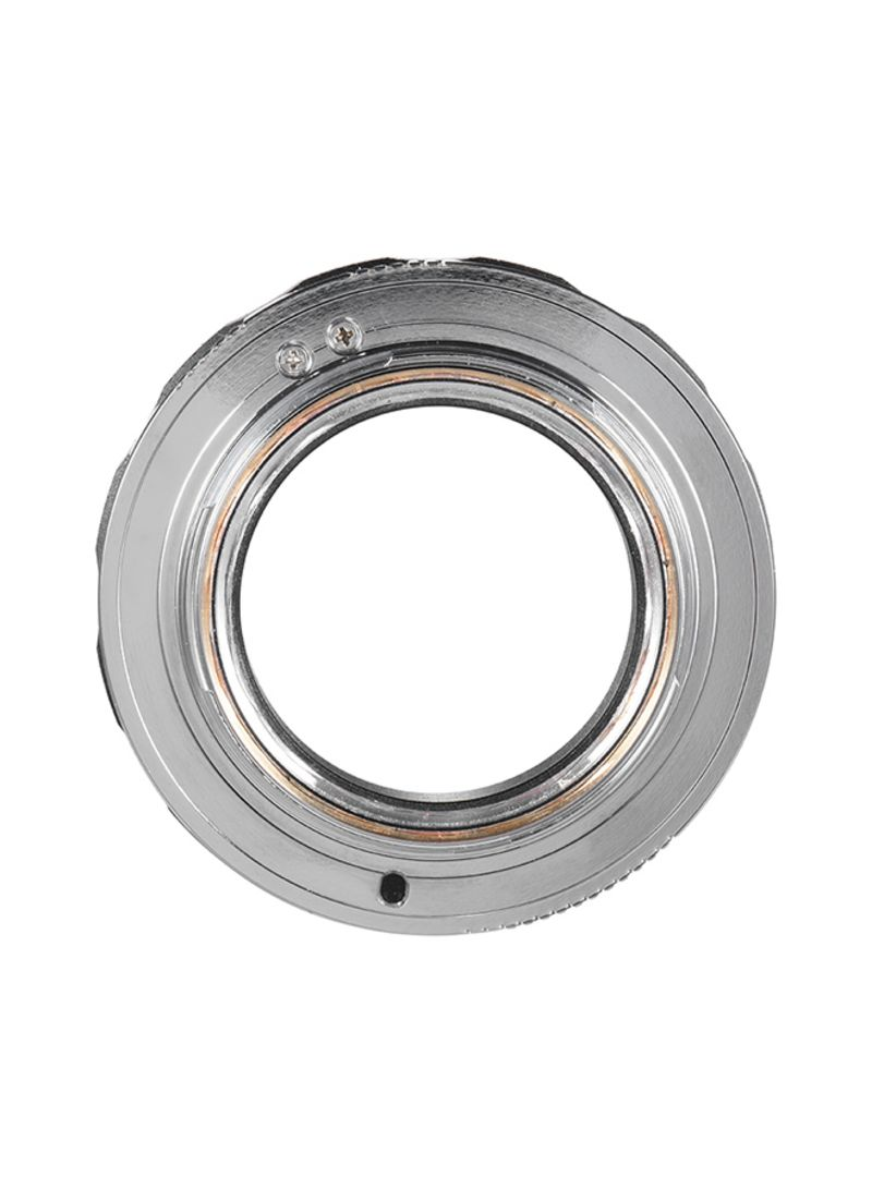 LM-NEX Camera Lens Mount Adapter Ring Silver