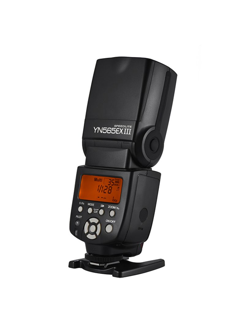 Wireless TTL Slave Flash Speedlite Black/Grey