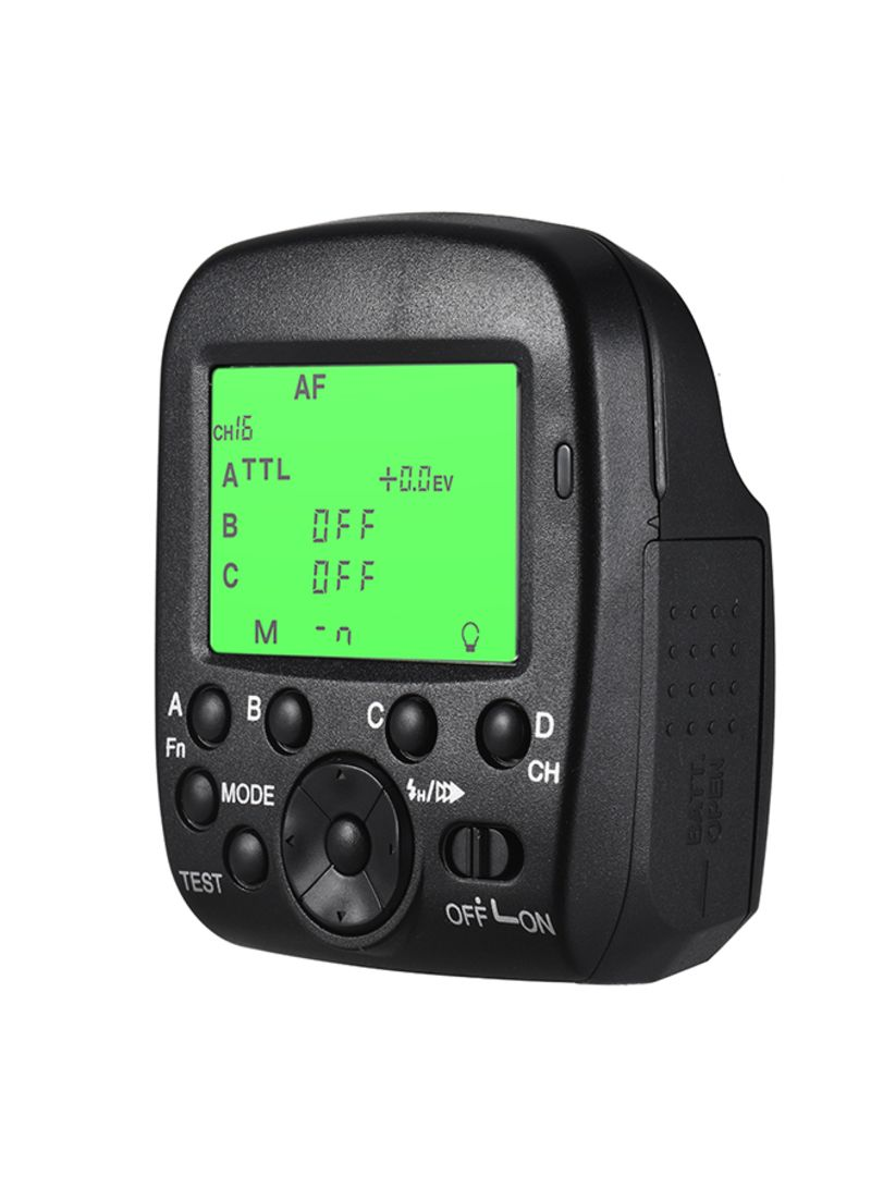 Wireless TTL Flash Trigger Transmitter Black