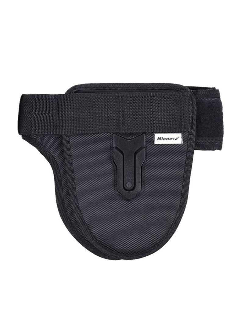 2-Camera Holder Strap Belt Black