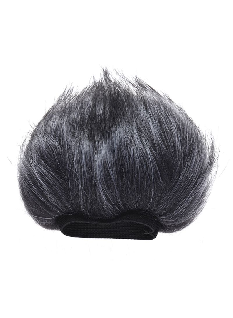 Fur Outdoor Microphone Wind Cover Grey