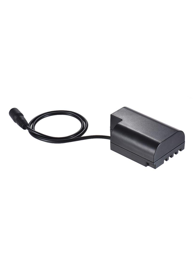 Camera Charging Adapter For Panasonic DMC GH5/GH4/GH33 Black