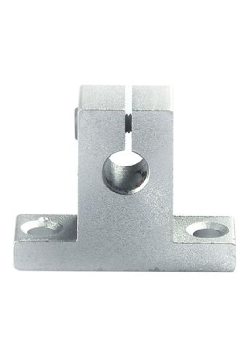 3D Printers Linear Motion Rail Support Guide Shaft Silver