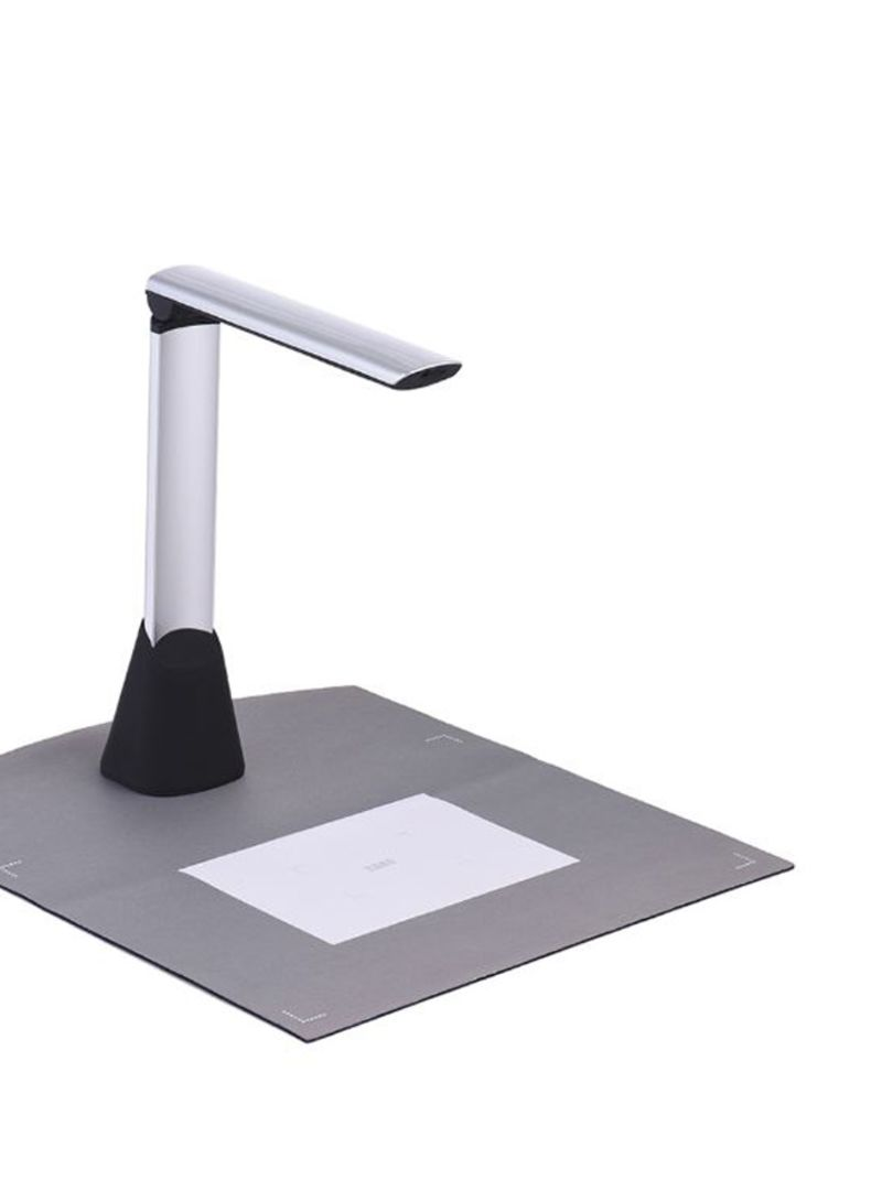 Document Camera Scanner With OCR Function LED Light Grey