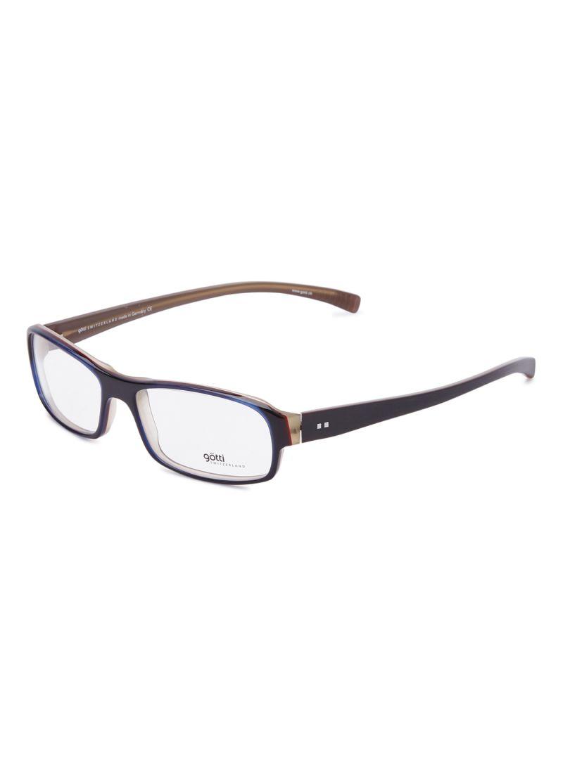 Men's Rectangular Eyeglasses Frames GOTTI HERBY FGOT/BLU/B
