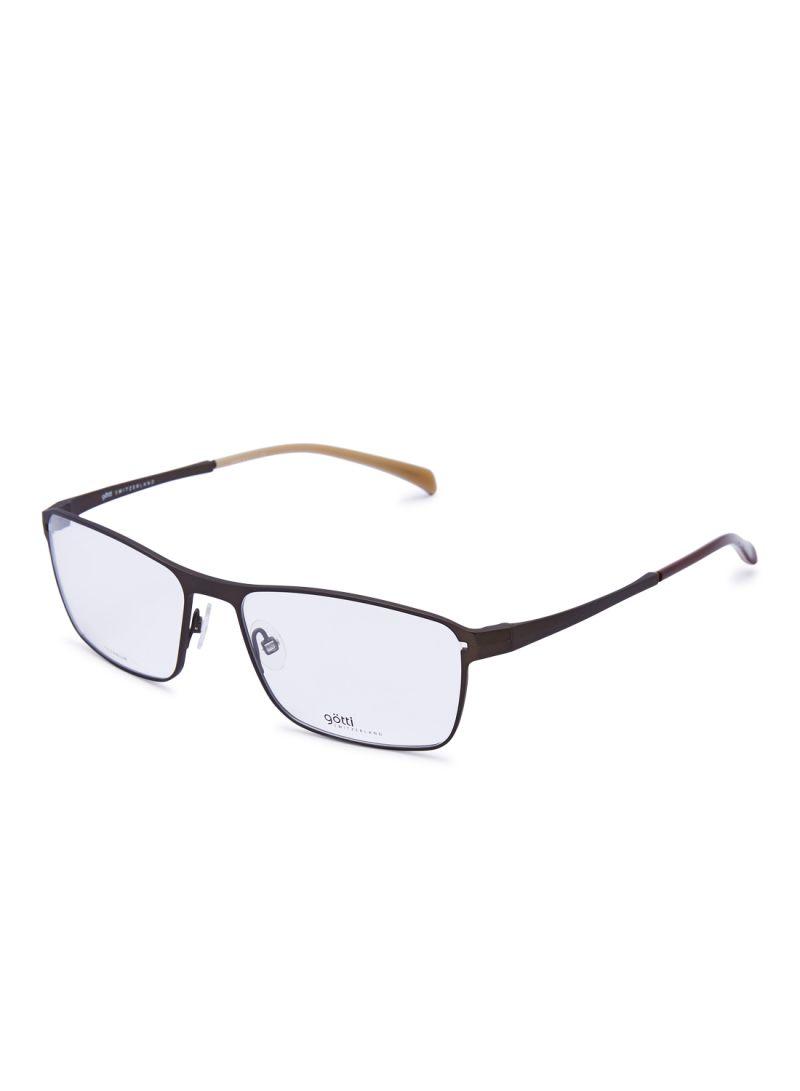 Men's Rectangular Eyeglasses Frames GOTTI YALE BRM FGOT/EW000515