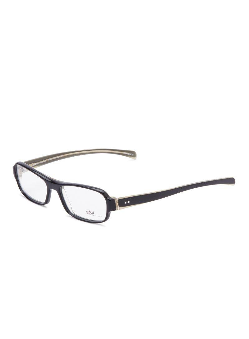 Women's Rectangular Eyeglasses Frames GOTTI CLEO FGOT/BLKY
