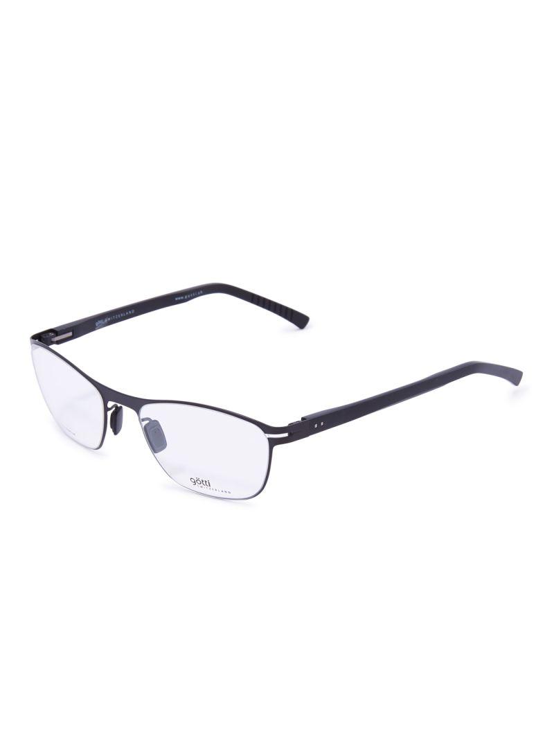 Women's Oval Eyeglasses Frames GOTTI LENNY FGOT/BLKM