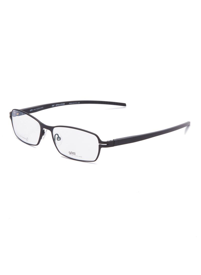 Rectangular Eyeglasses Frames GOTTI LORIO FGOT/BLKM