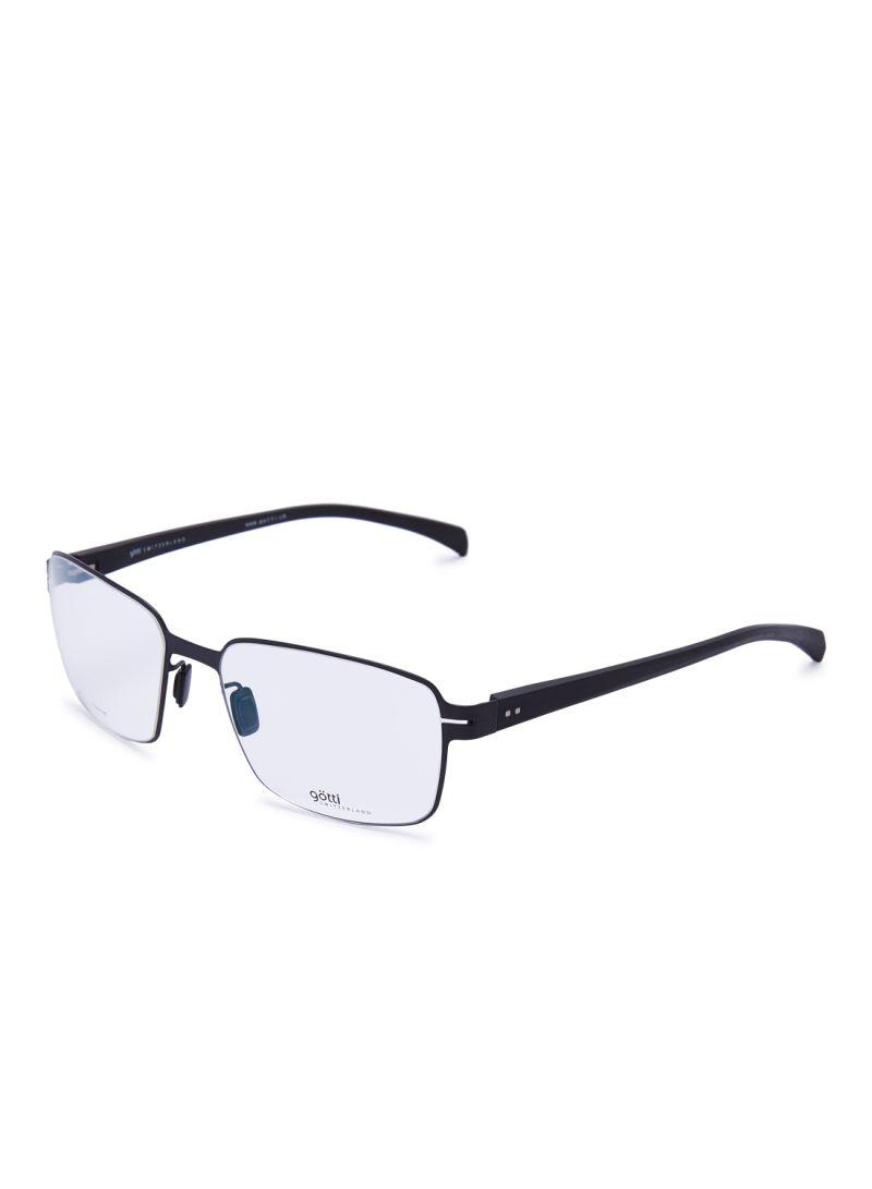 Men's Square Eyeglasses Frames GOTTI LILO FGOT/BLKM