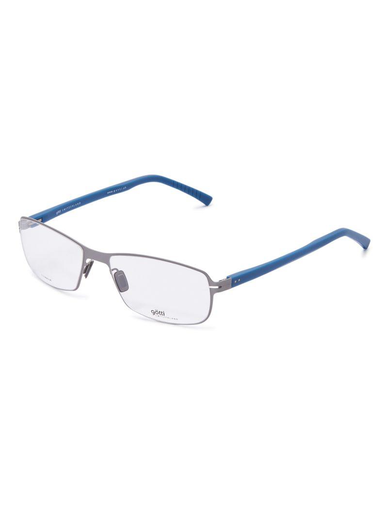 Rectangular Eyeglasses Frames GOTTI LUCAS FGOT/SLM-BL