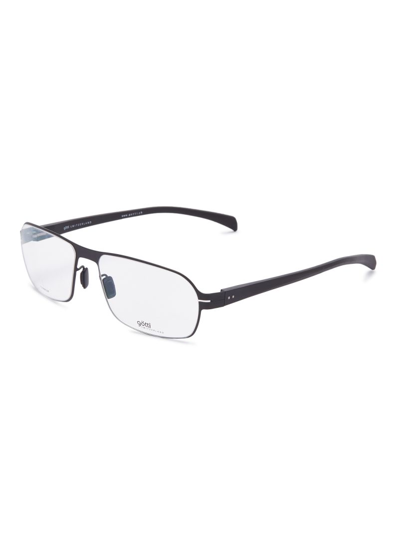 Men's Rectangular Eyeglasses Frames GOTTI LOLEK BLKM-W FGOT/EW000205