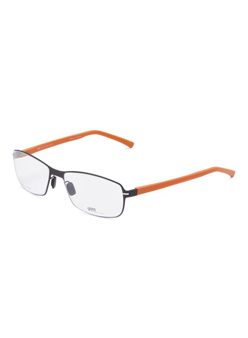 Rectangular Eyeglasses Frames GOTTI LUCAS FGOT/BLKM-O
